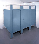 Modulex partitions corp partitions for commercial for Knickerbocker bathroom partitions